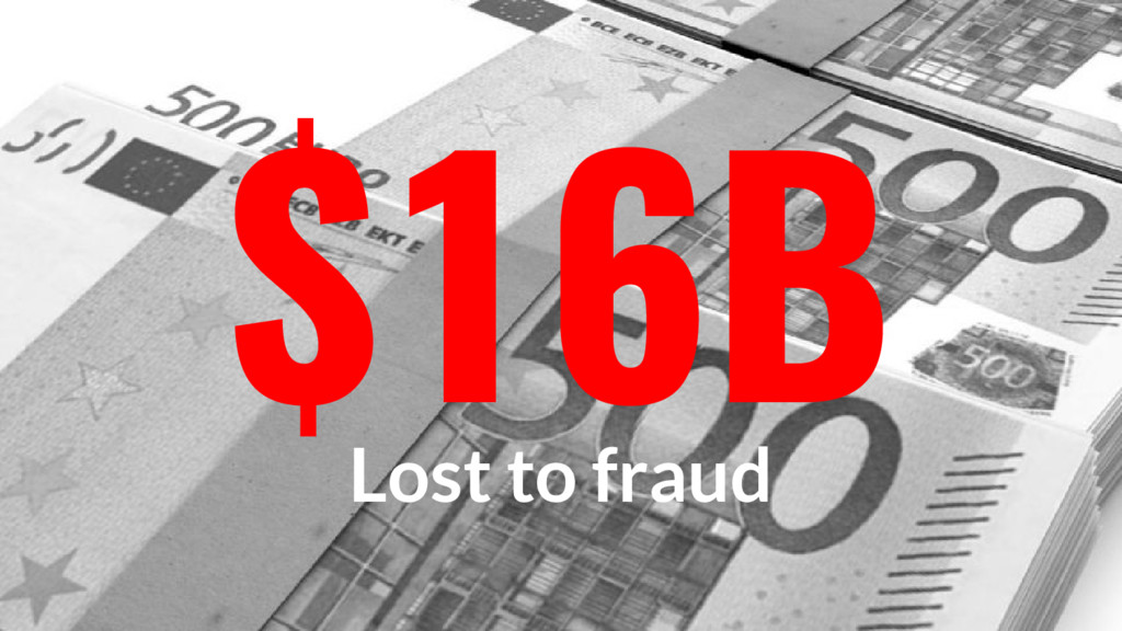 $16B Lost to fraud