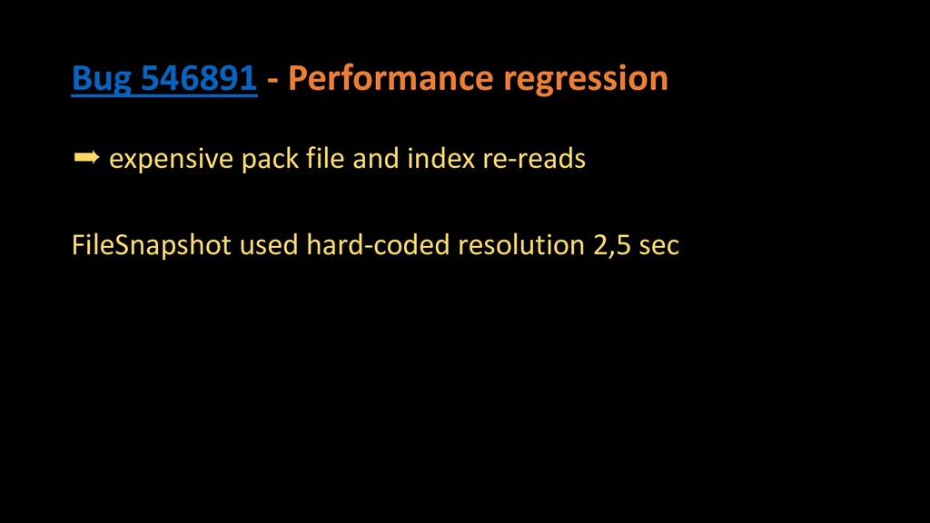 Bug 546891 - Performance regression ➨ expensive...