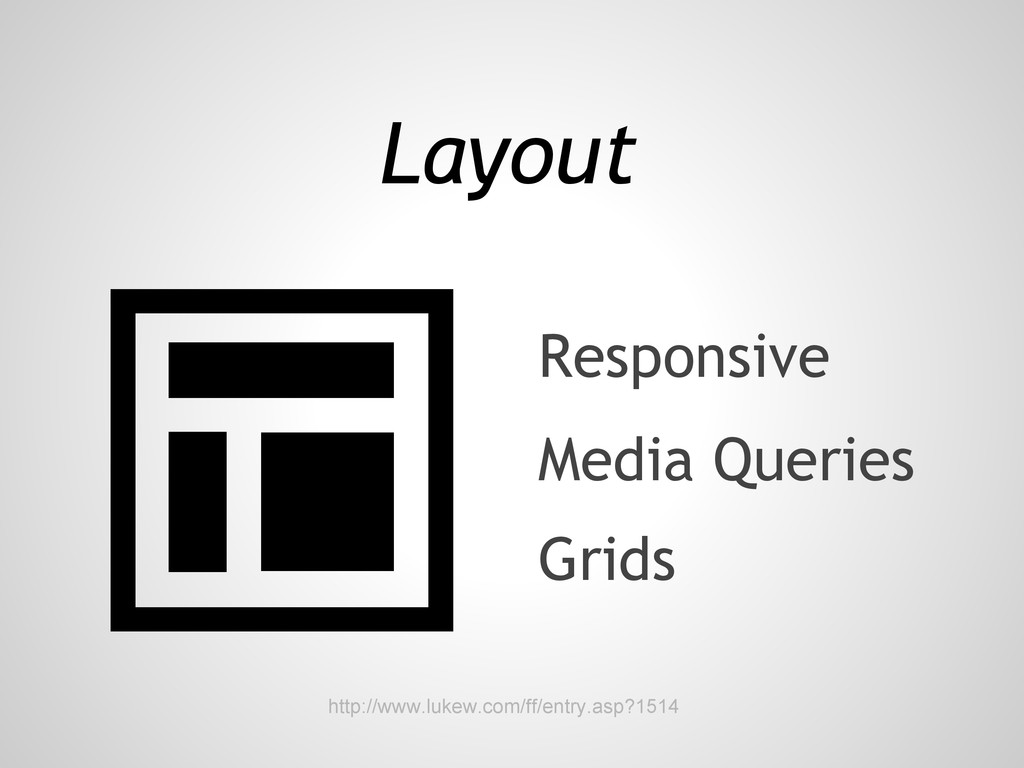 Layout Grids Media Queries Responsive http://ww...
