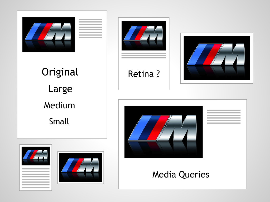 Original Large Medium Small Retina ? Media Quer...