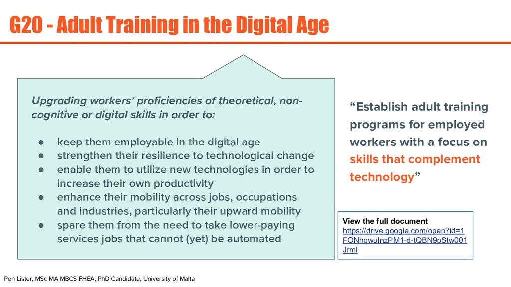 G20 - Adult Training in the Digital Age Pen Lis...