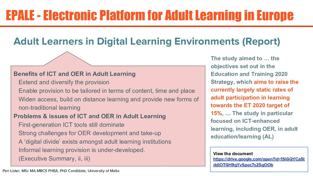 Adult Learners in Digital Learning Environments...