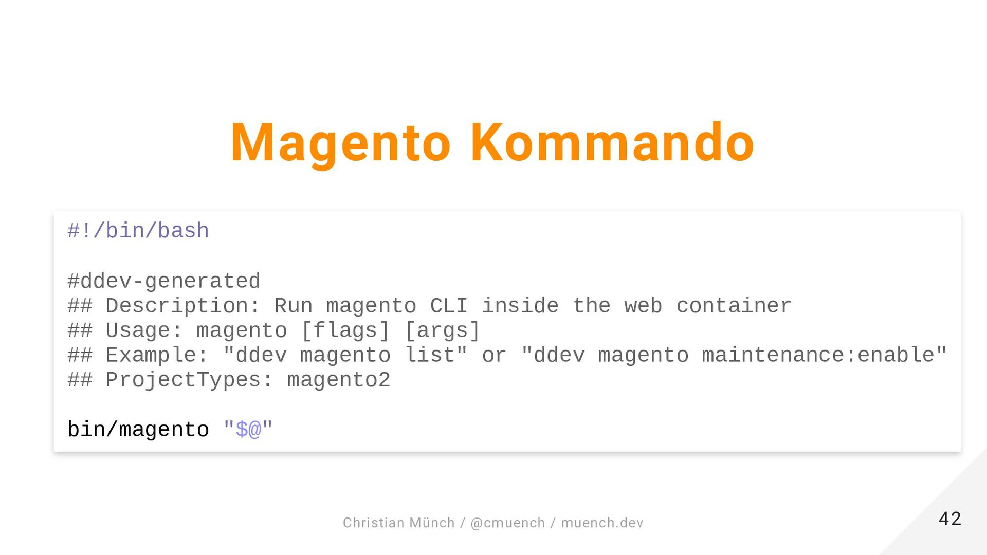 ❯ ddev start Starting example-project... ... Ex...