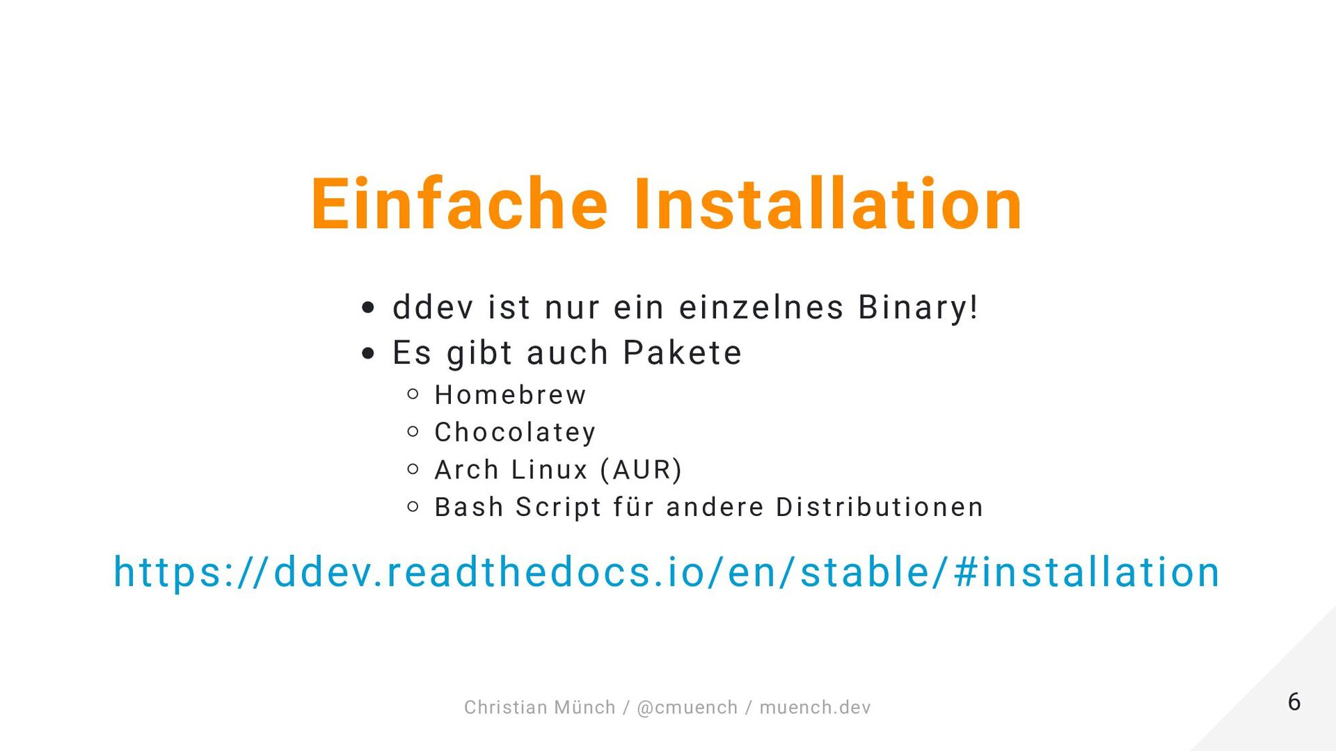Let's go! ddev config --project-name=example-pr...