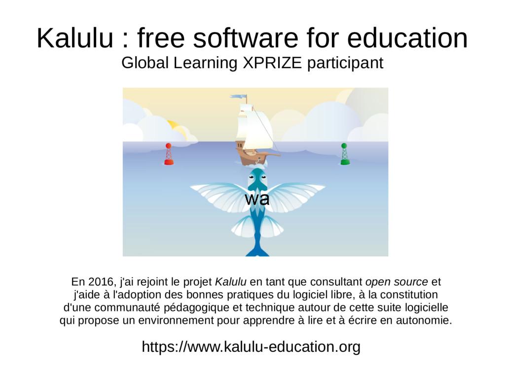 Kalulu : free software for education Global Lea...
