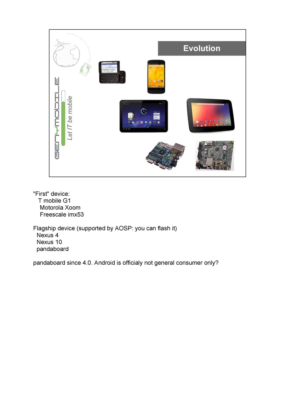 "Evolution ""First"" device: T mobile G1 Motorola ..."