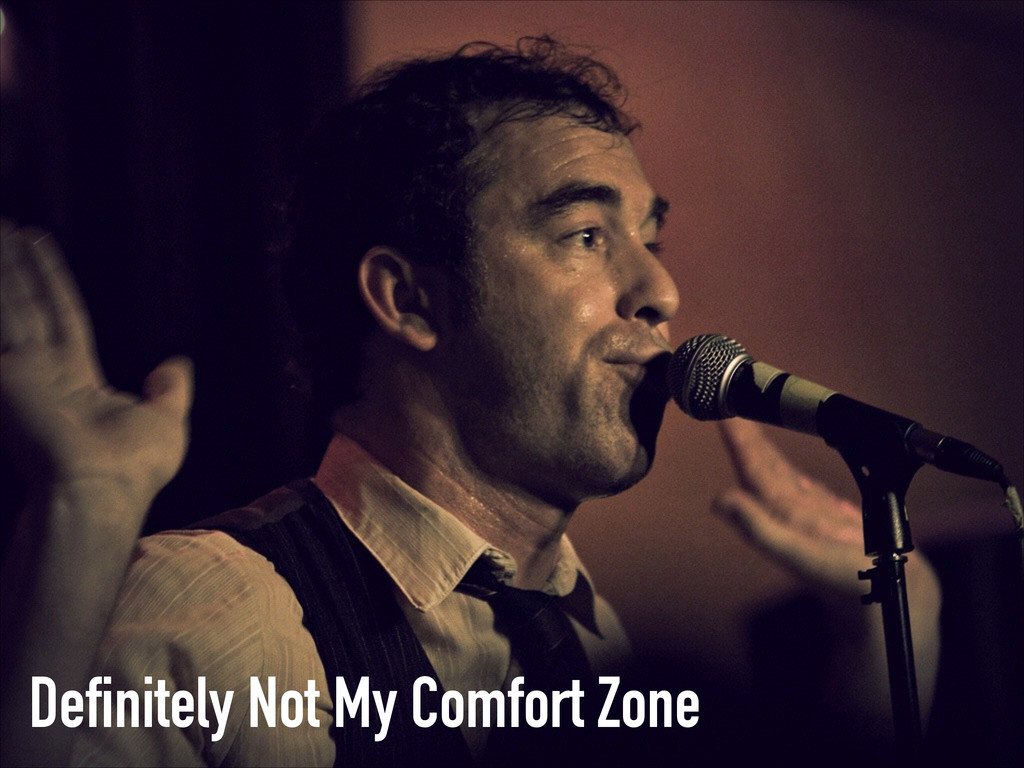 Definitely Not My Comfort Zone
