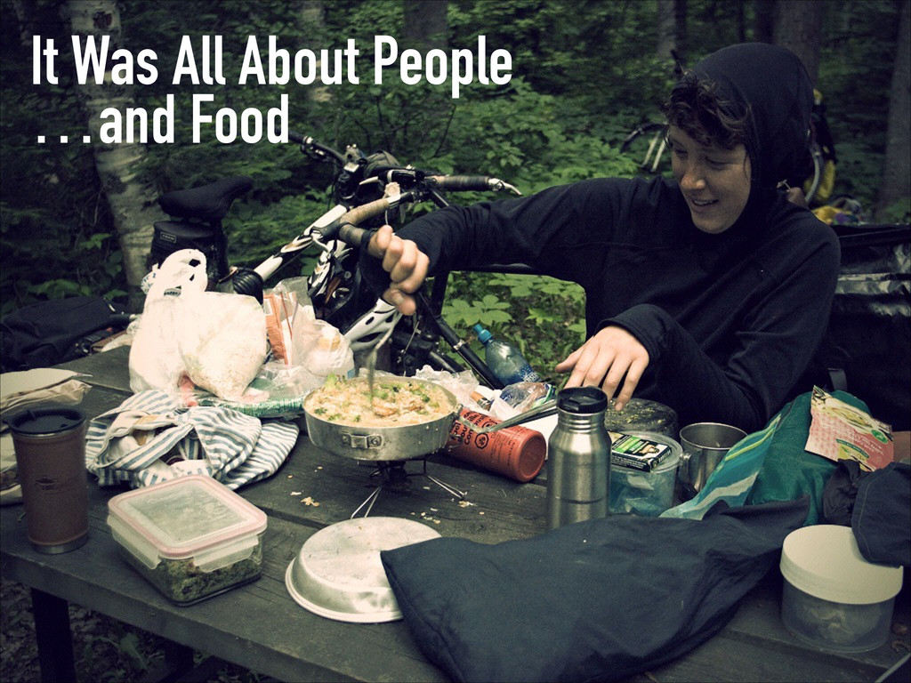 It Was All About People …and Food