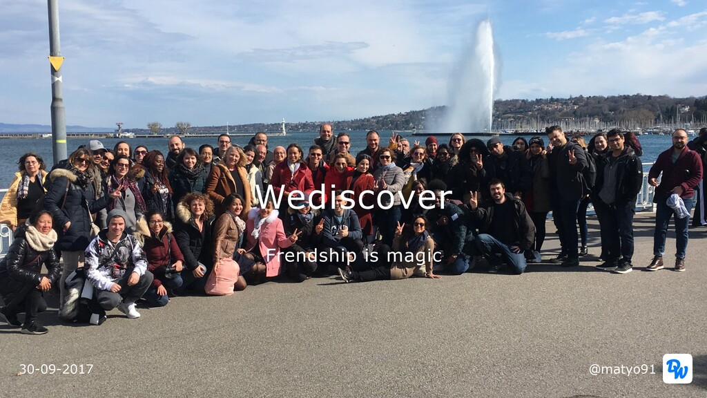 Wediscover @matyo91 30-09-2017 Frendship is mag...