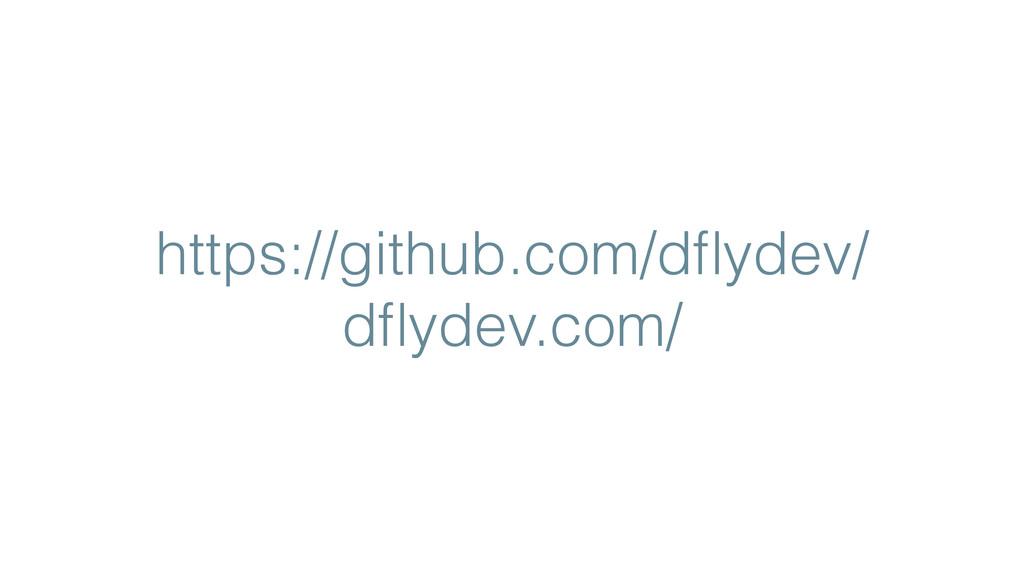 https://github.com/dflydev/ dflydev.com/