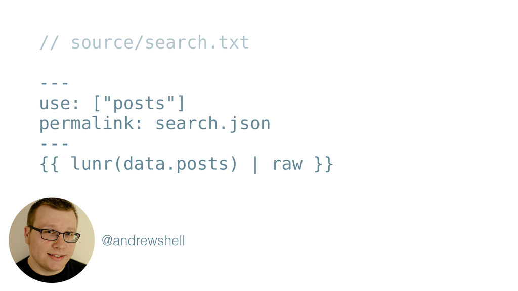 """// source/search.txt ! --- use: [""""posts""""] perma..."""