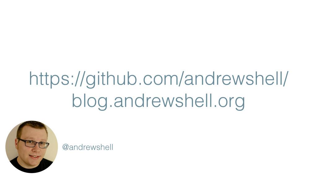 https://github.com/andrewshell/ blog.andrewshel...