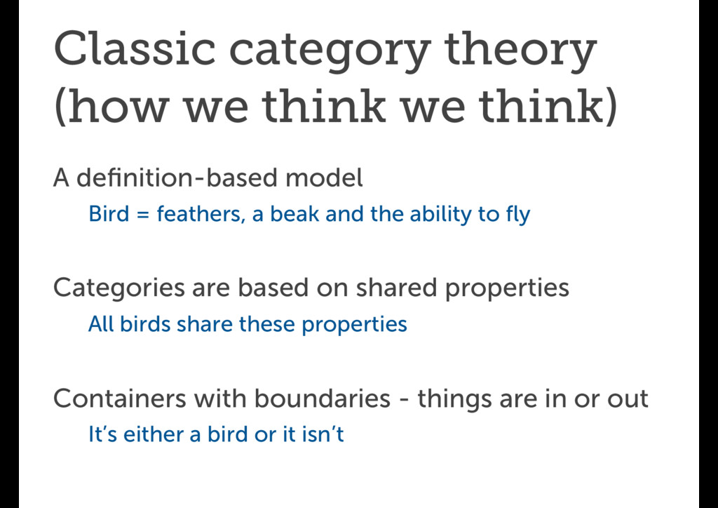Classic category theory (how we think we think)...