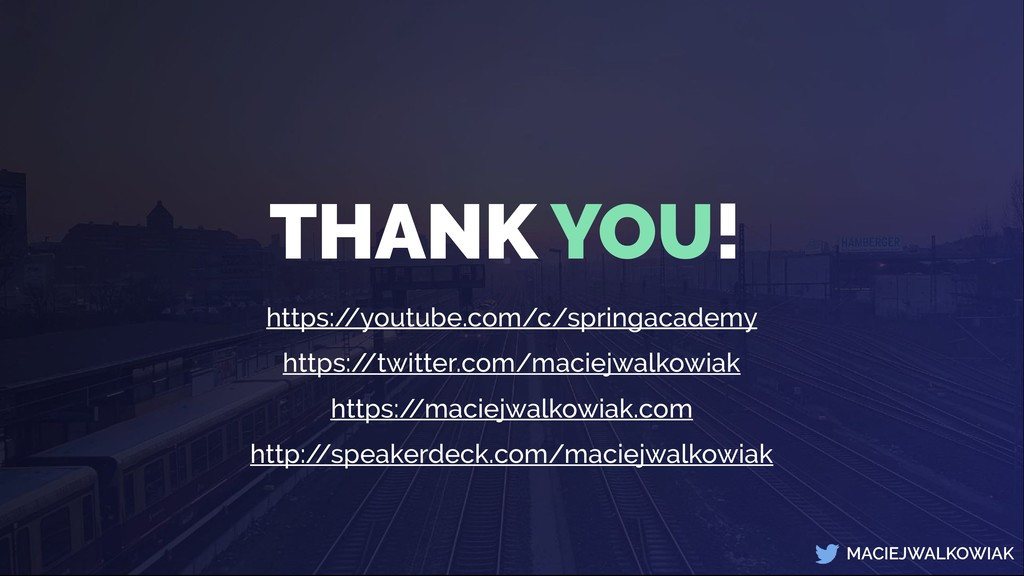 MACIEJWALKOWIAK THANK YOU! https:/ /youtube.com...