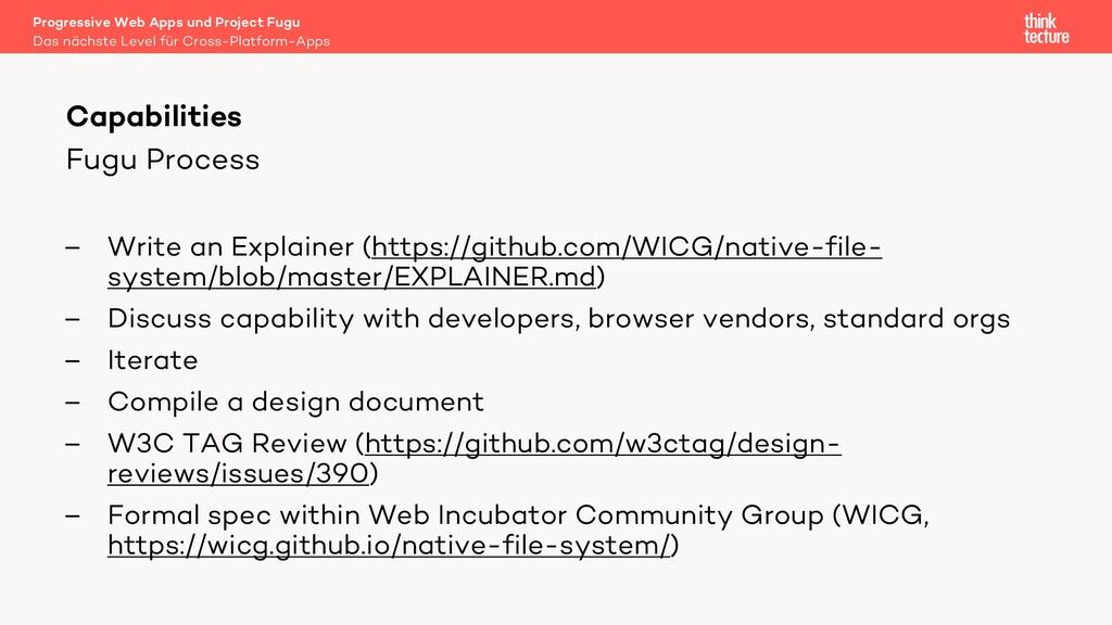 Fugu Process – Write an Explainer (https://gith...