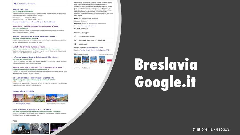 Breslavia Google.it @gfiorelli1 - #sob19