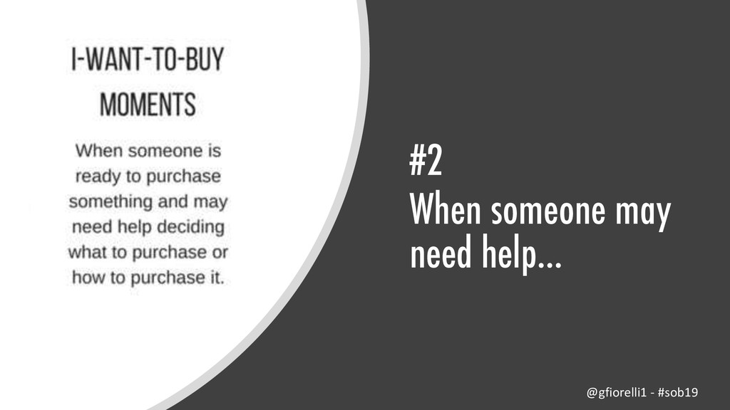 #2 When someone may need help… @gfiorelli1 - #s...