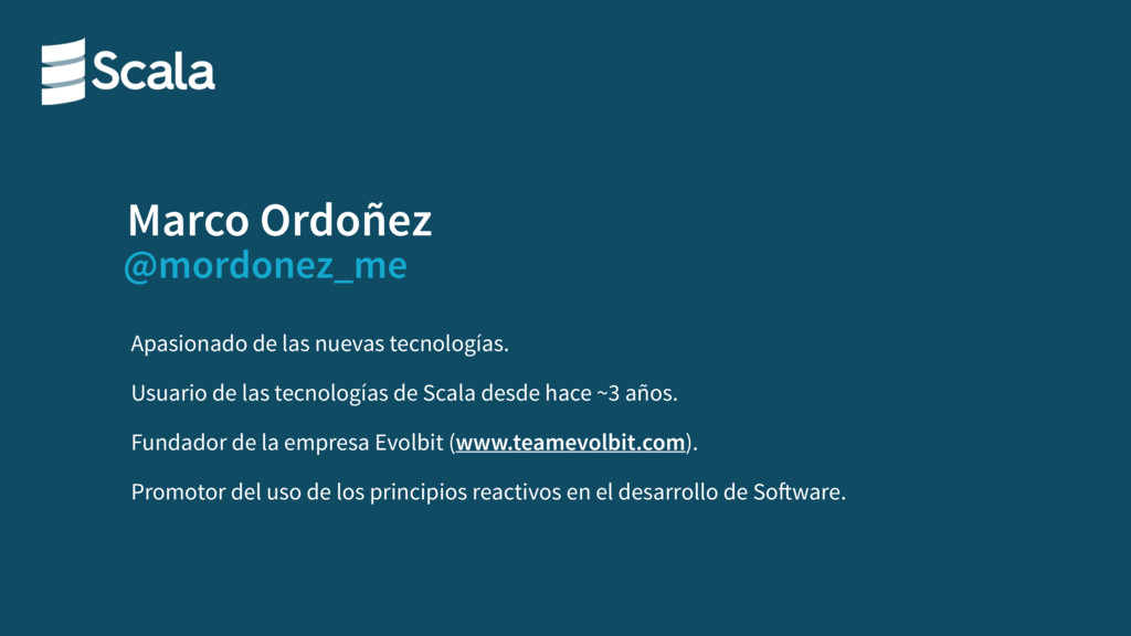 @mordonez_me Marco Ordoñez Apasionado de las nu...