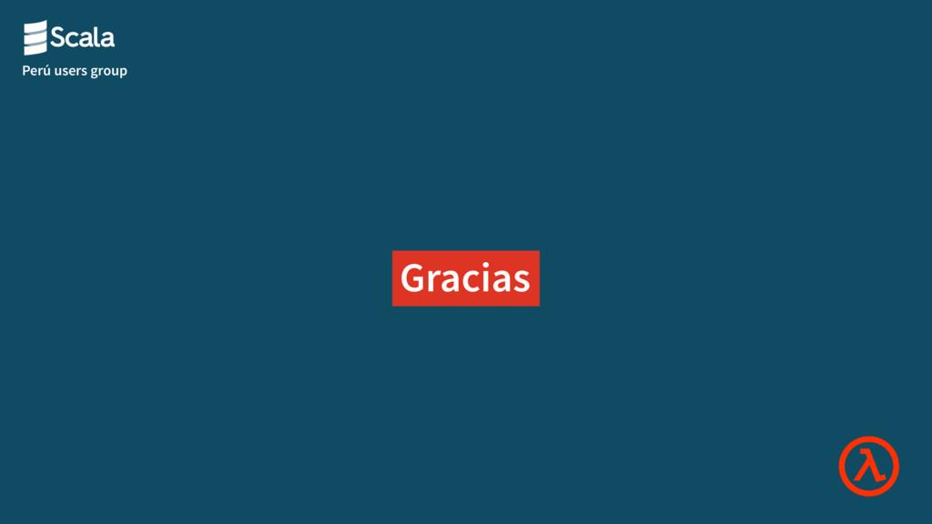 Perú users group Gracias