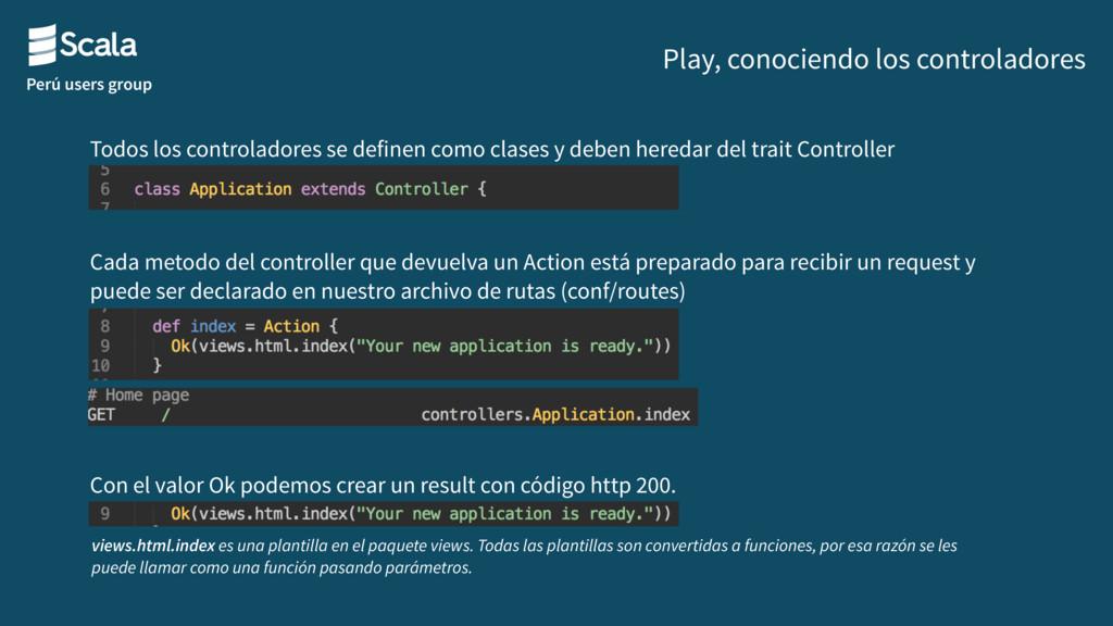 Perú users group Play, conociendo los controlad...