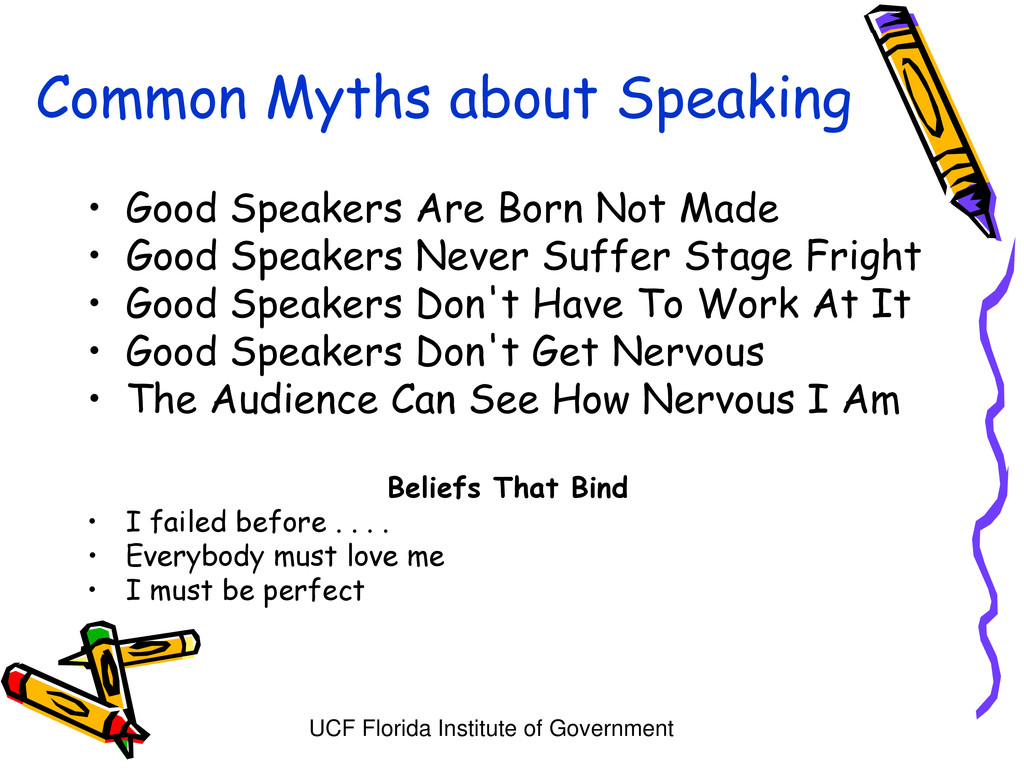 UCF Florida Institute of Government Common Myth...