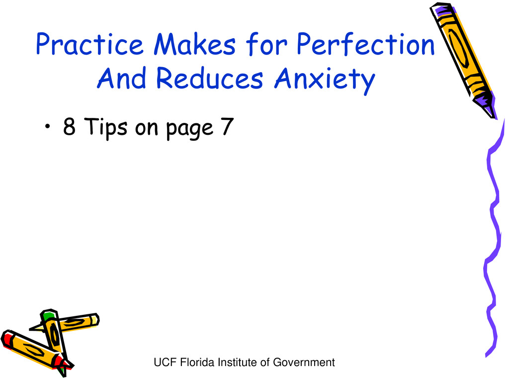 UCF Florida Institute of Government Practice Ma...