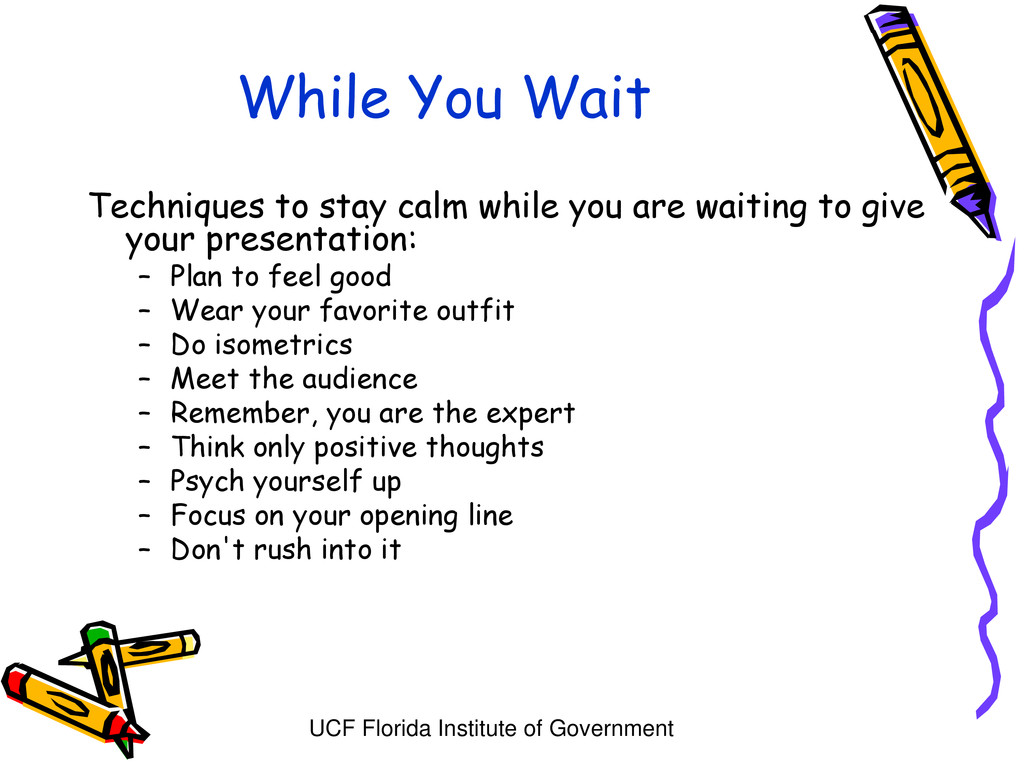 UCF Florida Institute of Government While You W...