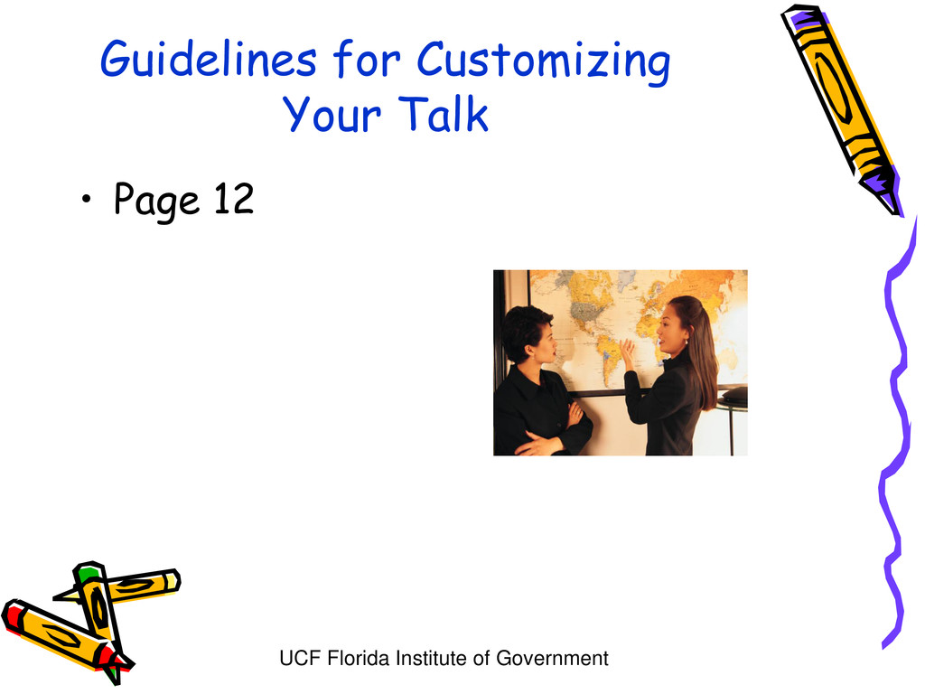 UCF Florida Institute of Government Guidelines ...