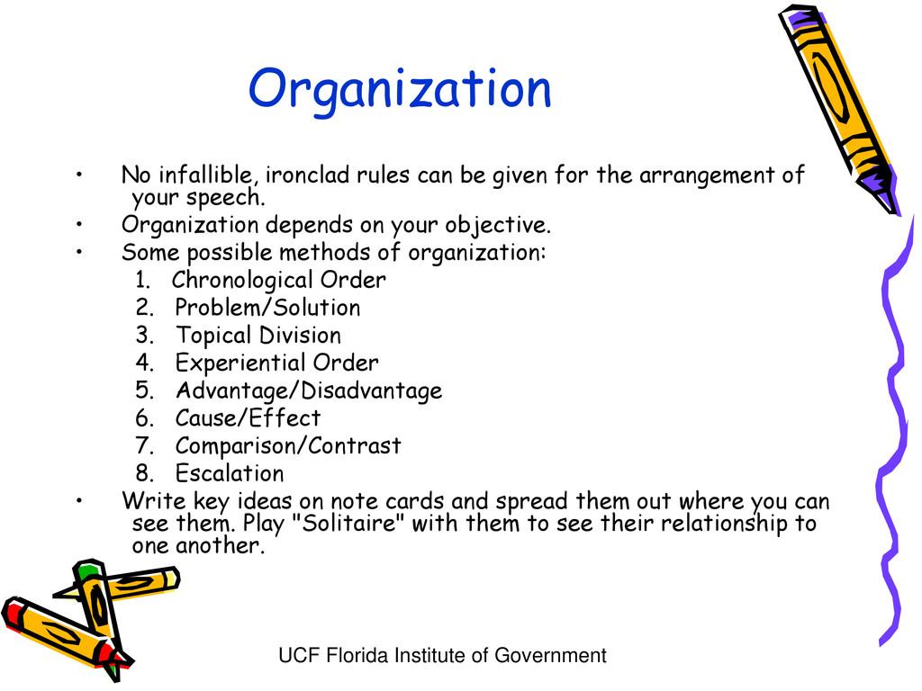 UCF Florida Institute of Government Organizatio...