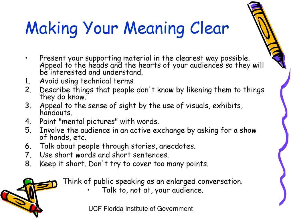 UCF Florida Institute of Government Making Your...