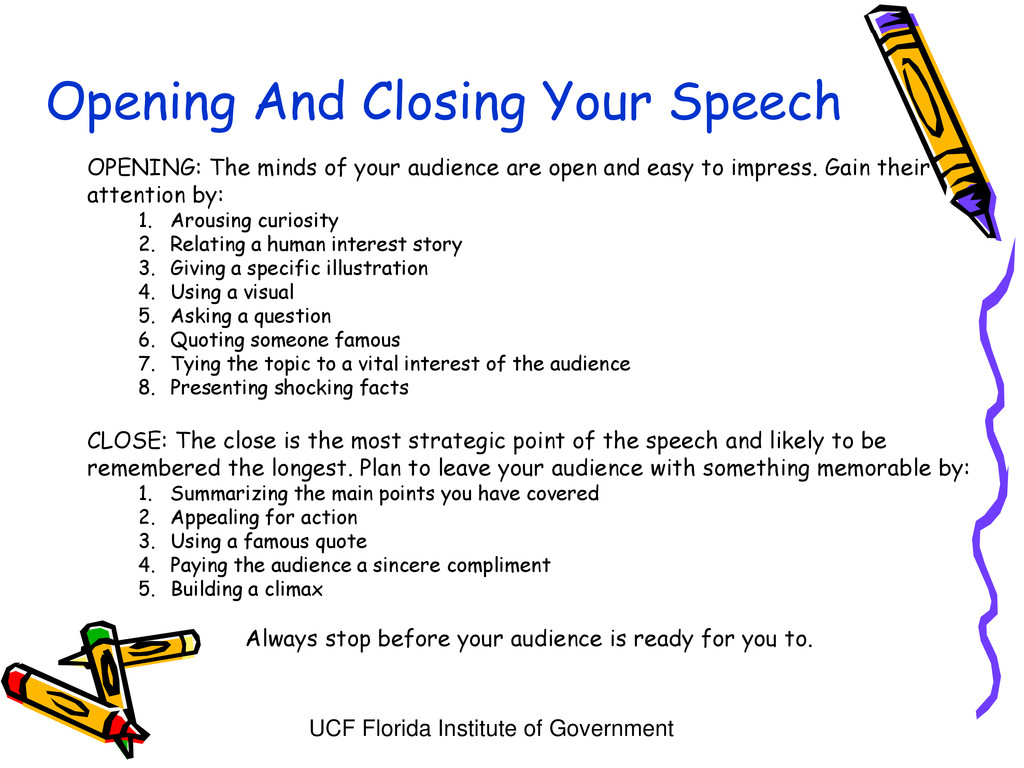 UCF Florida Institute of Government Opening And...