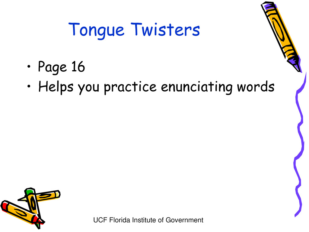 UCF Florida Institute of Government Tongue Twis...