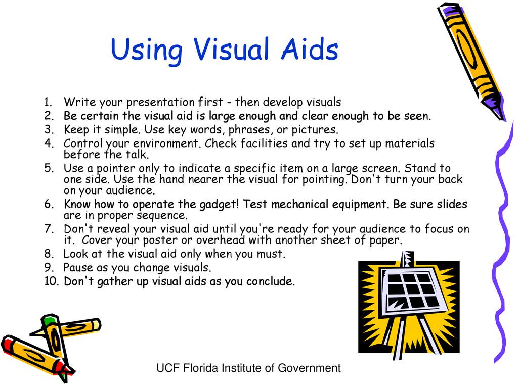 UCF Florida Institute of Government Using Visua...