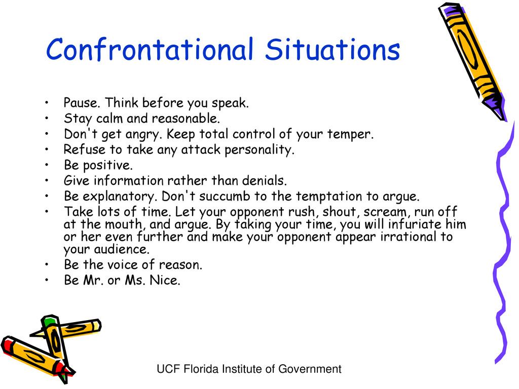 UCF Florida Institute of Government Confrontati...