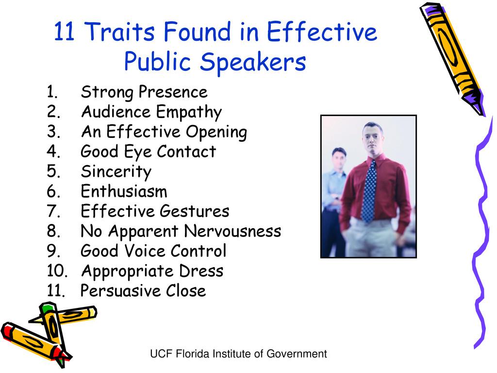UCF Florida Institute of Government 11 Traits F...