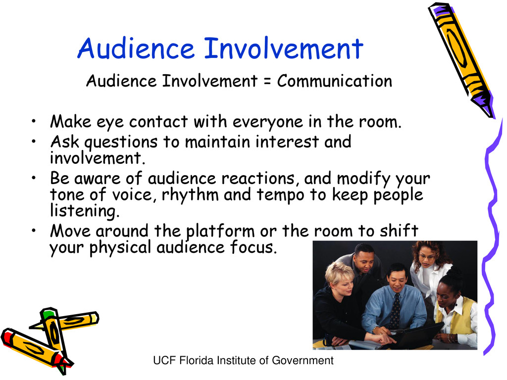 UCF Florida Institute of Government Audience In...