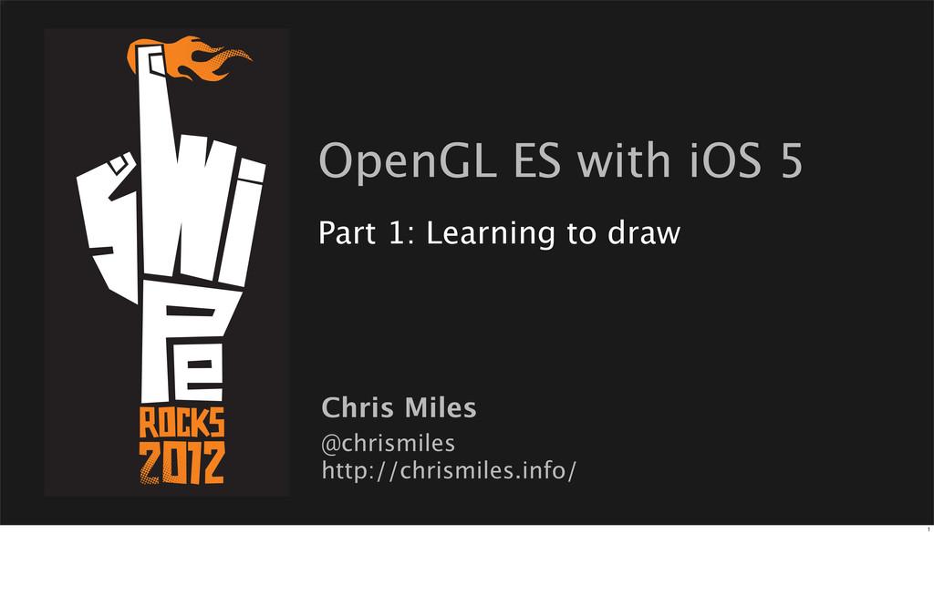 @chrismiles http://chrismiles.info/ Chris Miles...