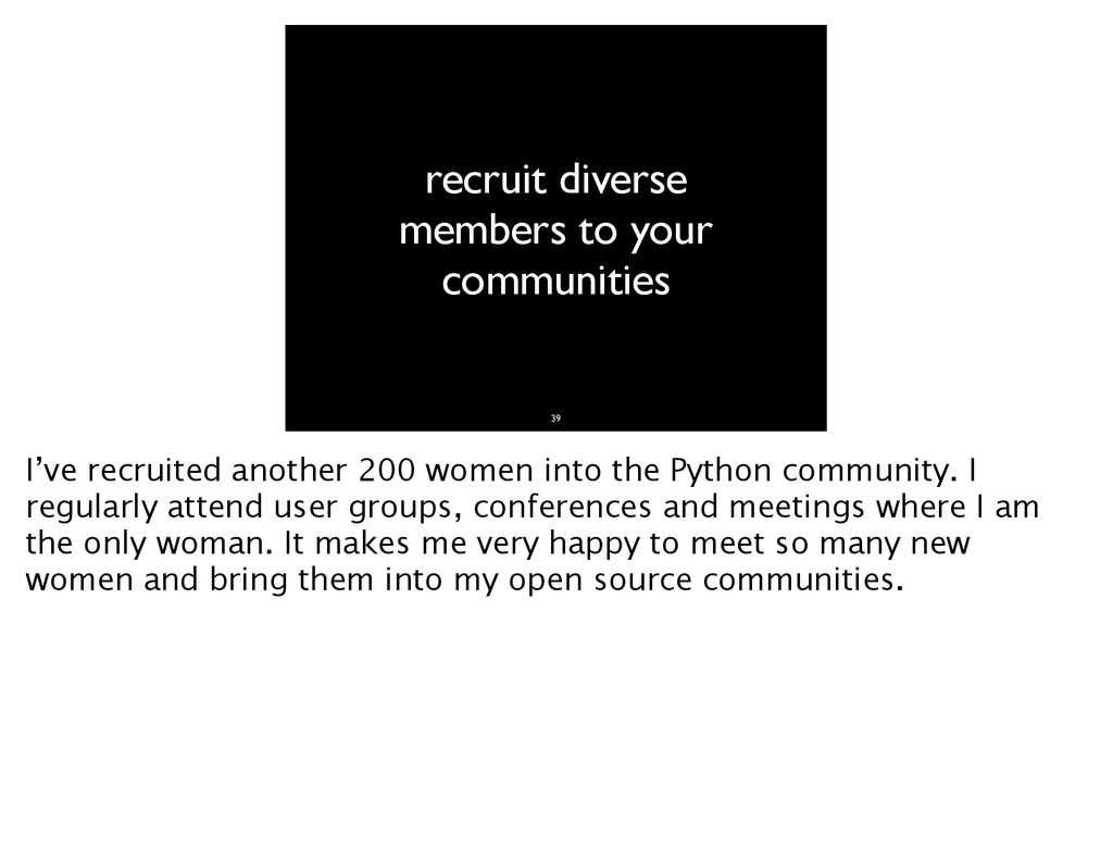 recruit diverse members to your communities 39 ...