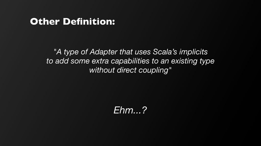 """Other Definition: """"A type of Adapter that uses S..."""
