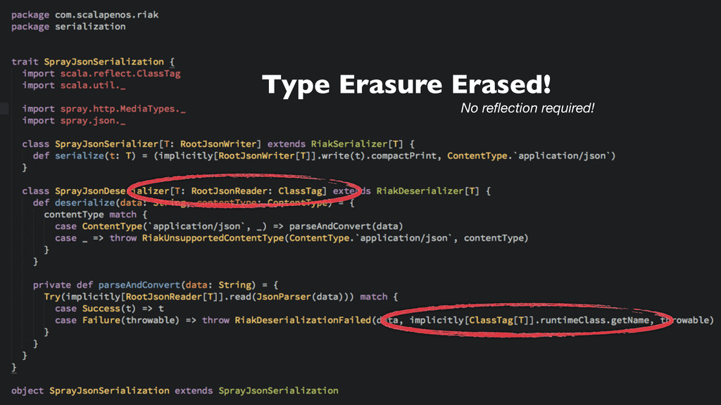 Type Erasure Erased! No reflection required!