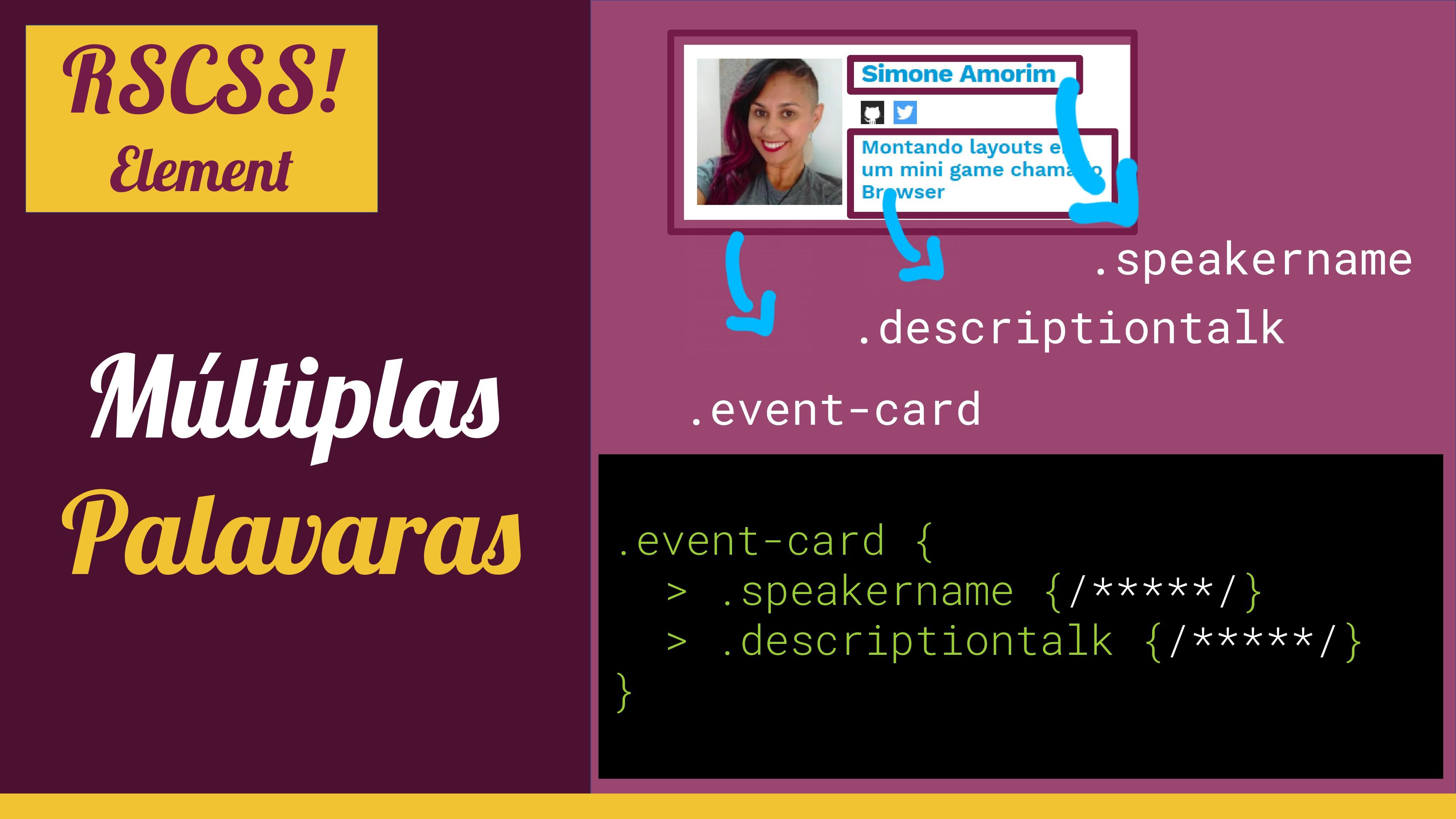 Múltiplas Palavaras .event-card .descriptiontal...