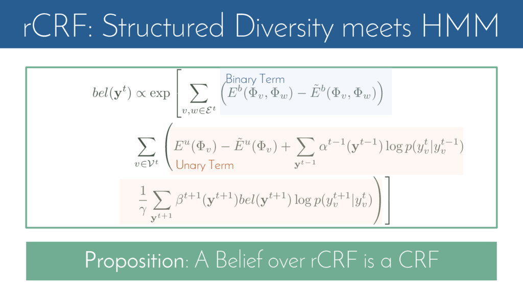 rCRF: Structured Diversity meets HMM Propositio...