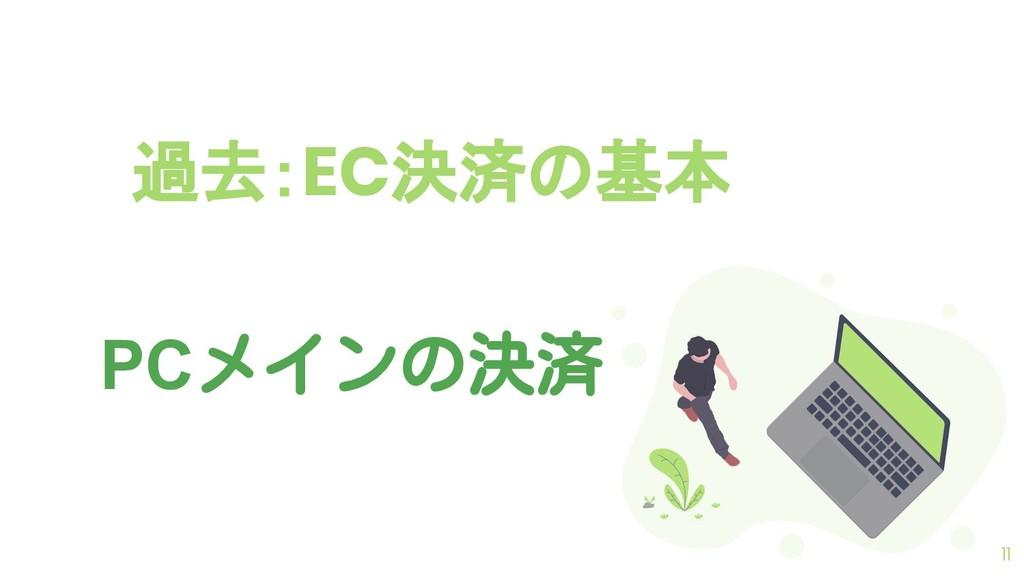過去:EC決済の基本 11 PCメインの決済