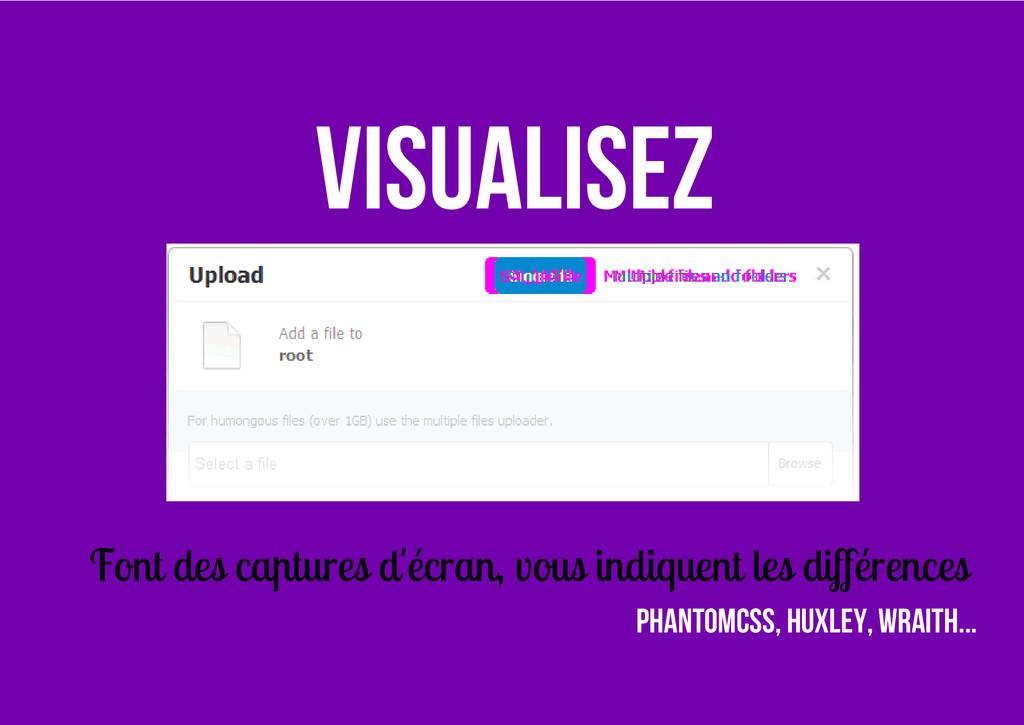 Visualisez Font des captures d'écran, vous indi...