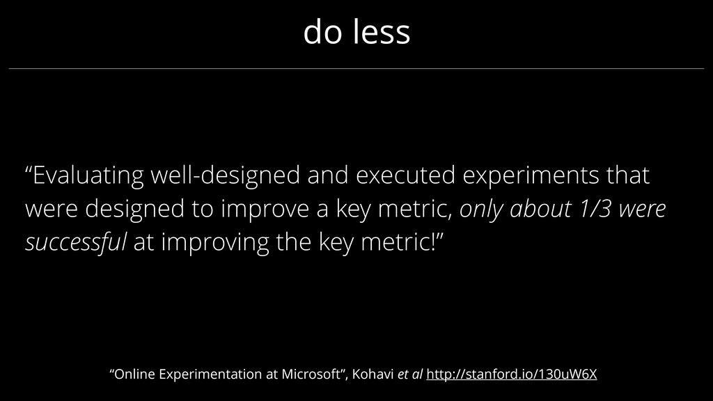 """Evaluating well-designed and executed experime..."