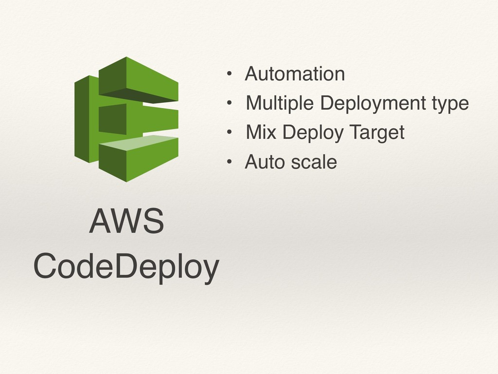 AWS CodeDeploy • Automation • Multiple Deployme...