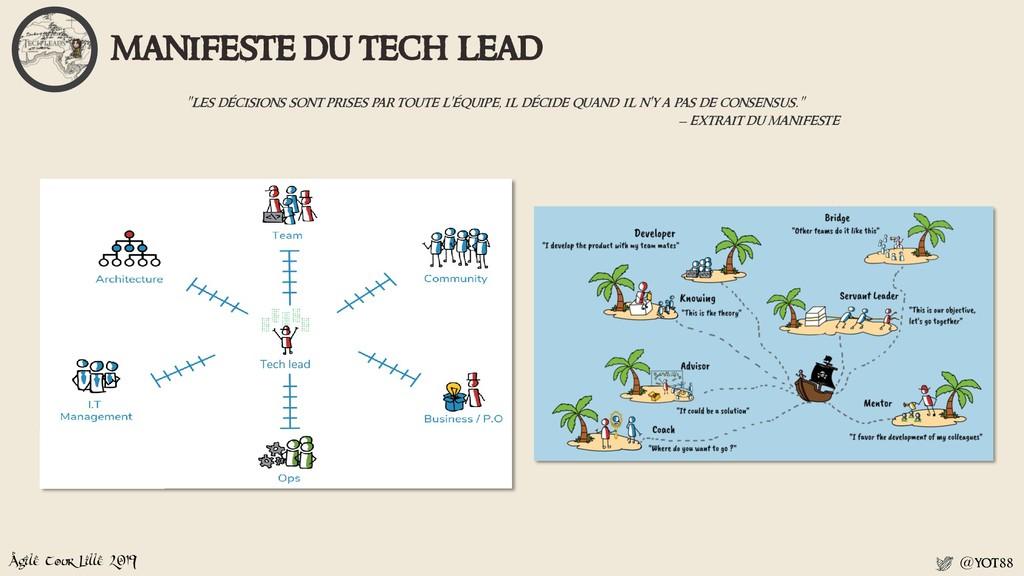 Agile Tour Lille 2019 @yot88 manifeste du tech ...