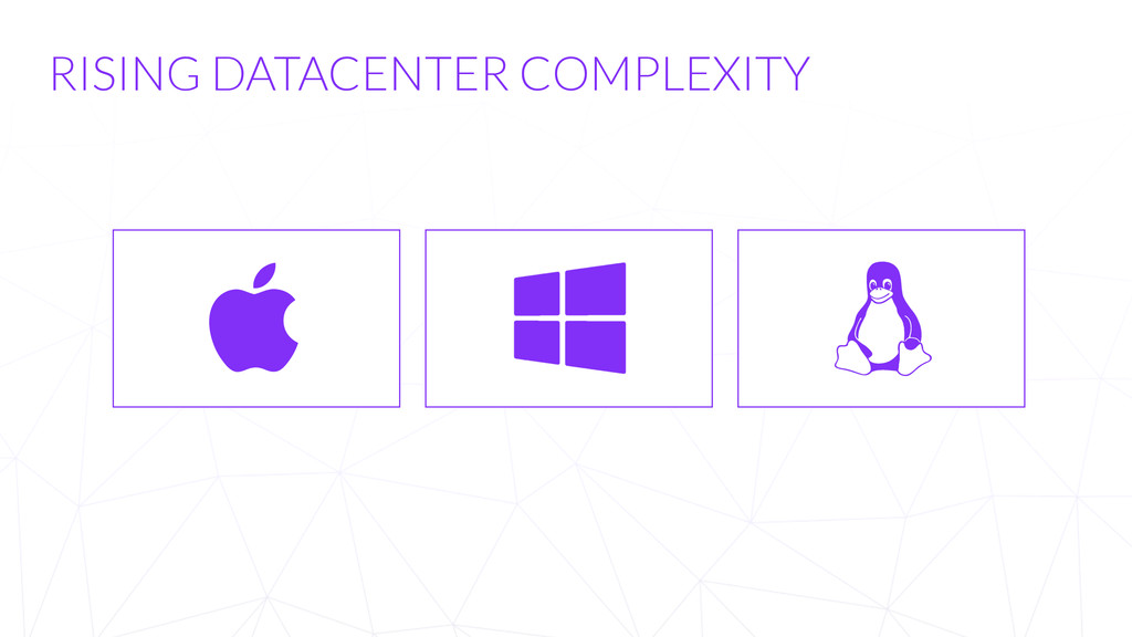 RISING DATACENTER COMPLEXITY