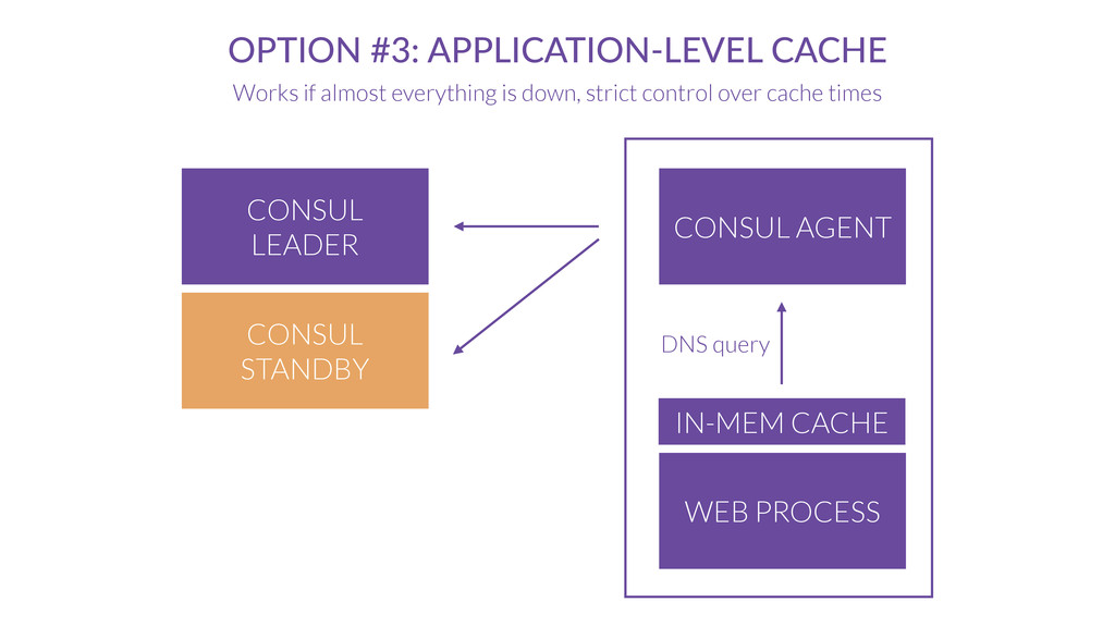 CONSUL AGENT OPTION #3: APPLICATION-LEVEL CACHE...