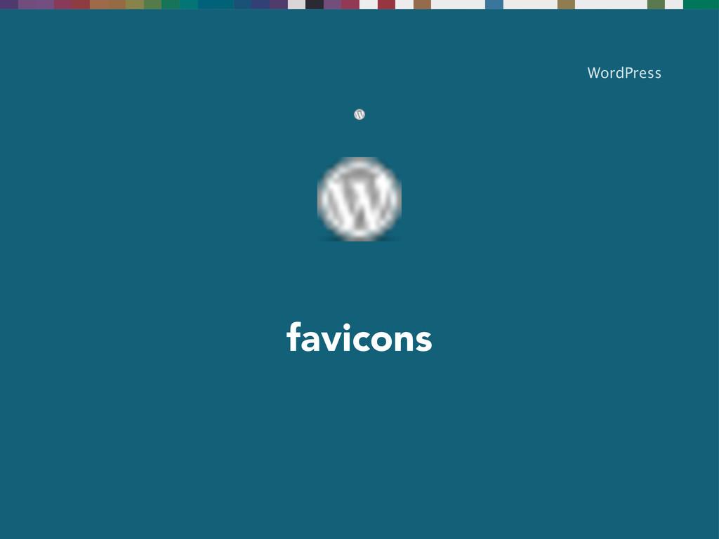 favicons WordPress